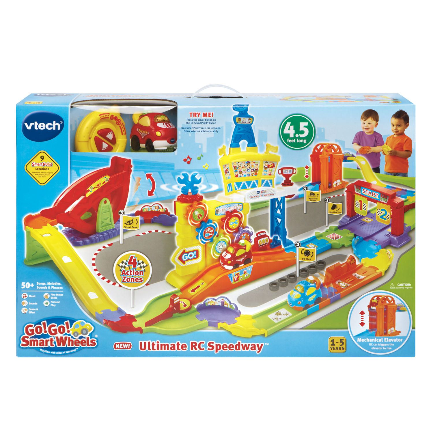 vtech go go smart wheels ultimate rc speedway english version walmartca