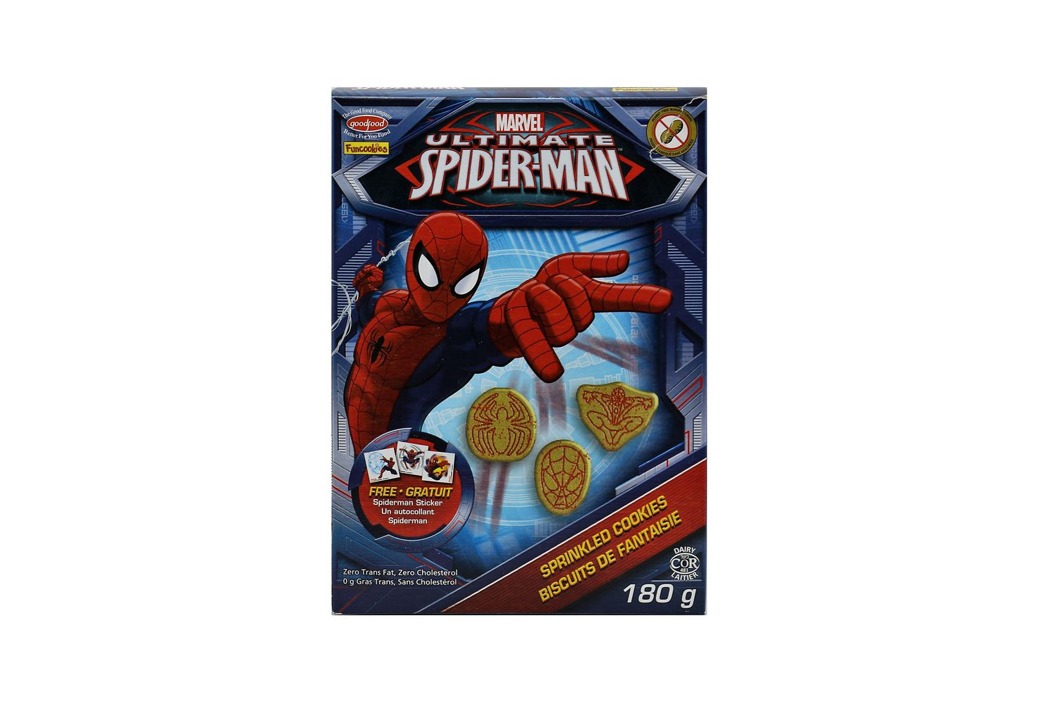 mavel ultimate spiderman sprinkled cookies walmart canada - Spider Man Gratuit