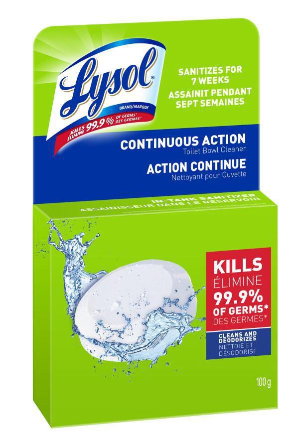 Lysol Toilet Bowl Cleaner Continuous Action Puck 100 G