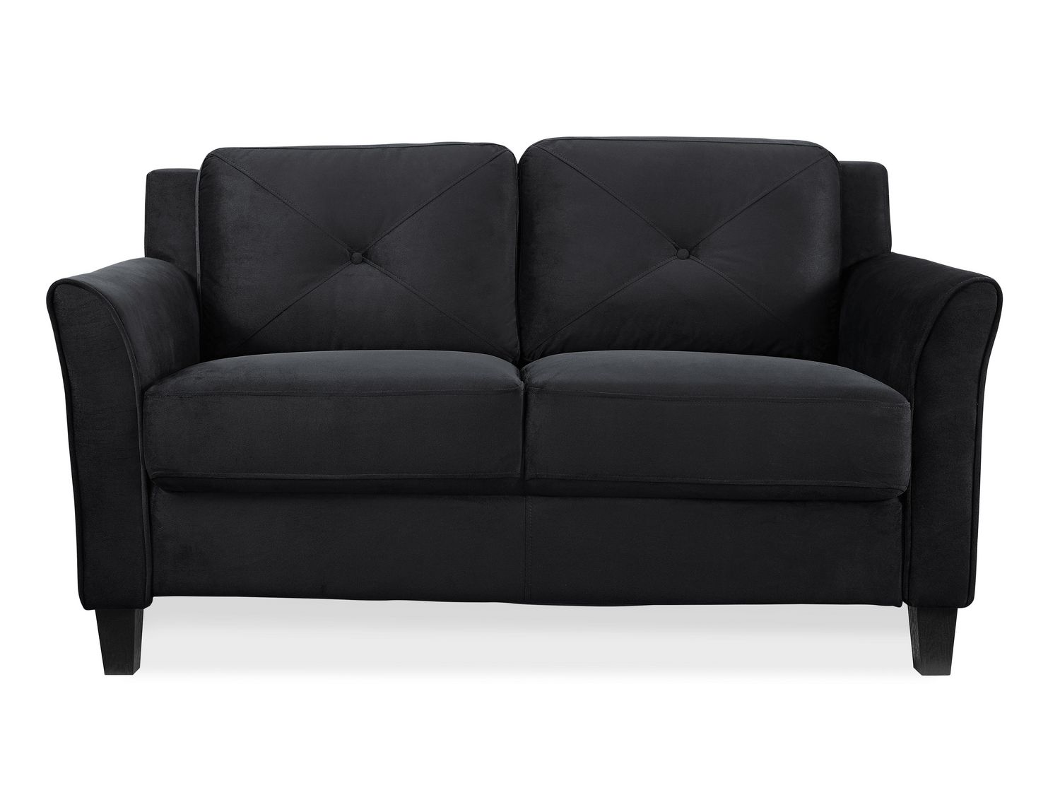 Lifestyle Solutions Taryn Black UPSable Loveseat  sc 1 st  Walmart Canada : cheap sectionals canada - Sectionals, Sofas & Couches