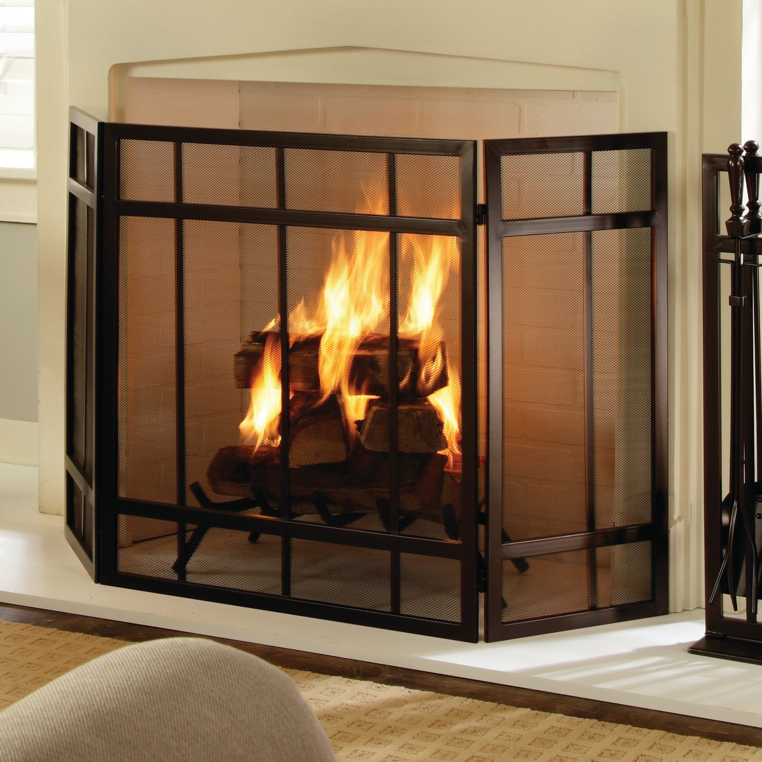 gallery s spark guard screen in hanging fireplaces image x fireplace woodfield