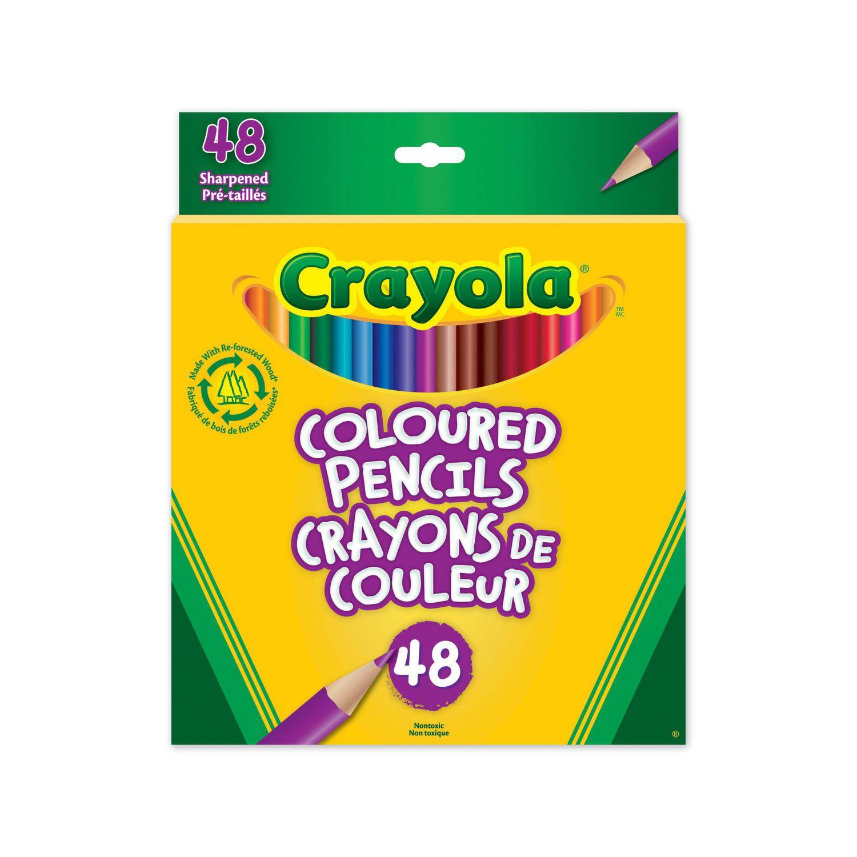crayola coloured pencils walmart canada