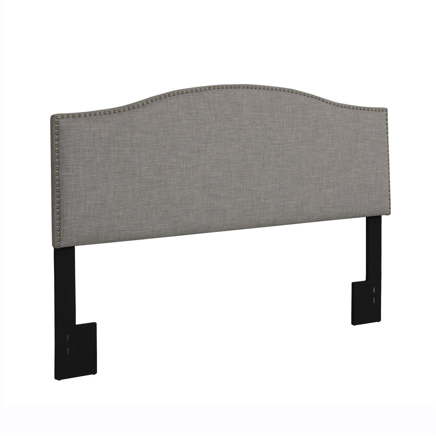 hometrends linen grey headboard  walmartca -