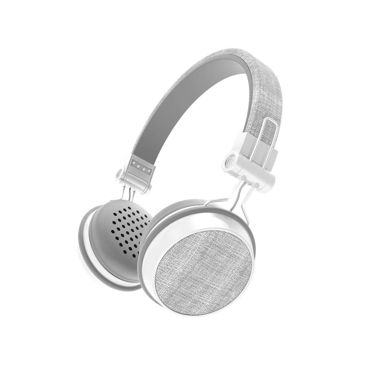 Sharper Image Chic Fabric Bluetooth Wireless Headphones ...