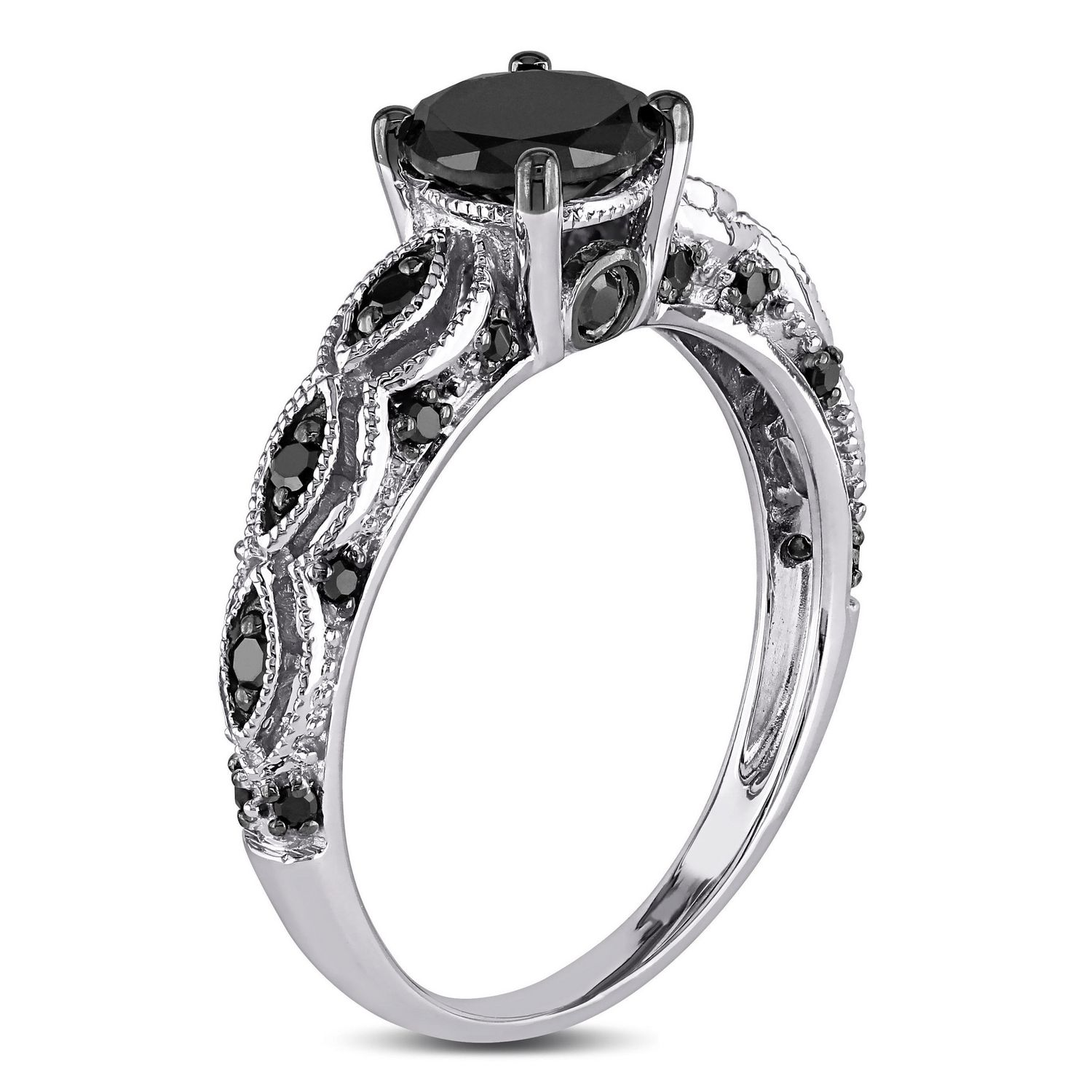 engagement rings carat ip walmart tw and white asteria diamond canada en sterling t ring black w silver
