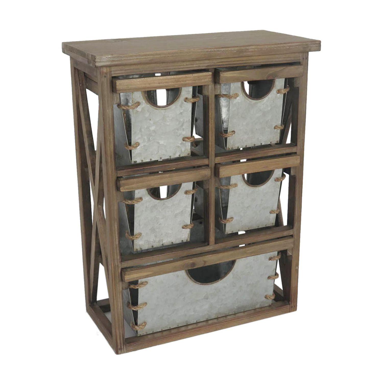 Hometrends Natural Wood Storage Cabinet Walmart Canada