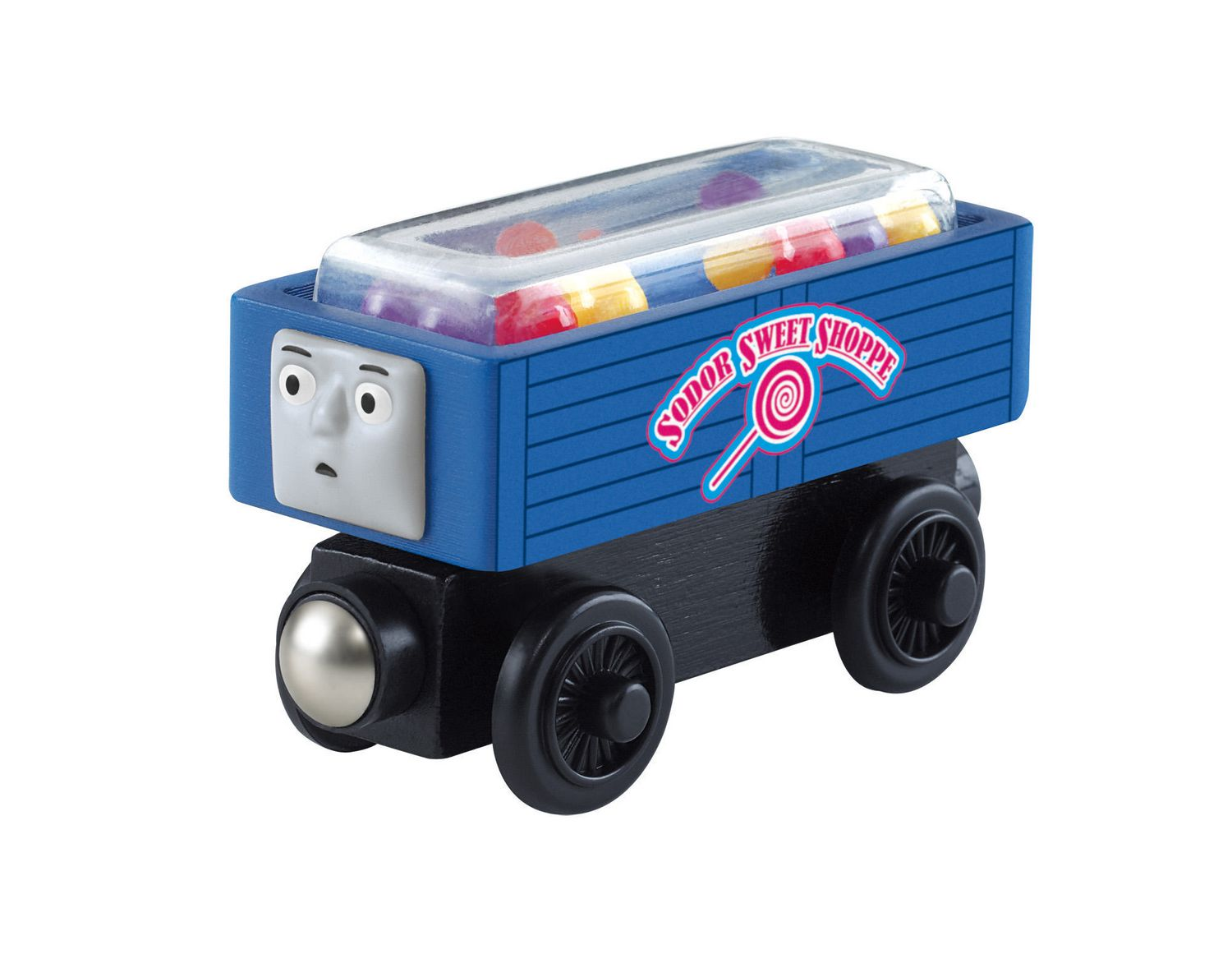 Fisher Price Thomas Friends Wooden Railway Troublesome Trucks And Sweets