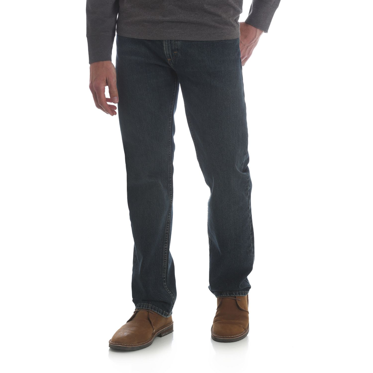 d3ff5b0d Wrangler Men's Straight Fit Jeans - image 1 of 6 zoomed image