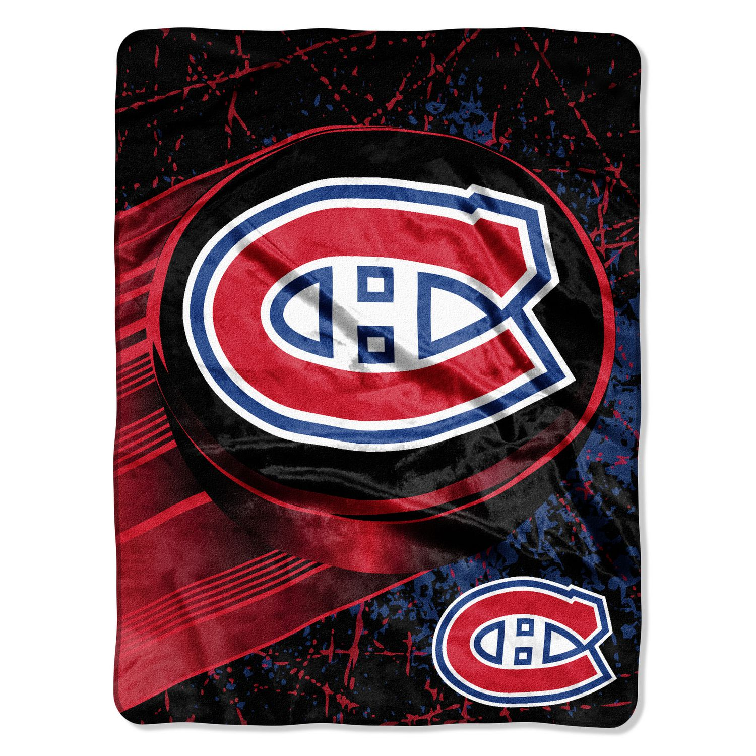 The Northwest Company The Northwest NHL Micro Raschel Throw Montreal  Canadiens  706f4d5c4