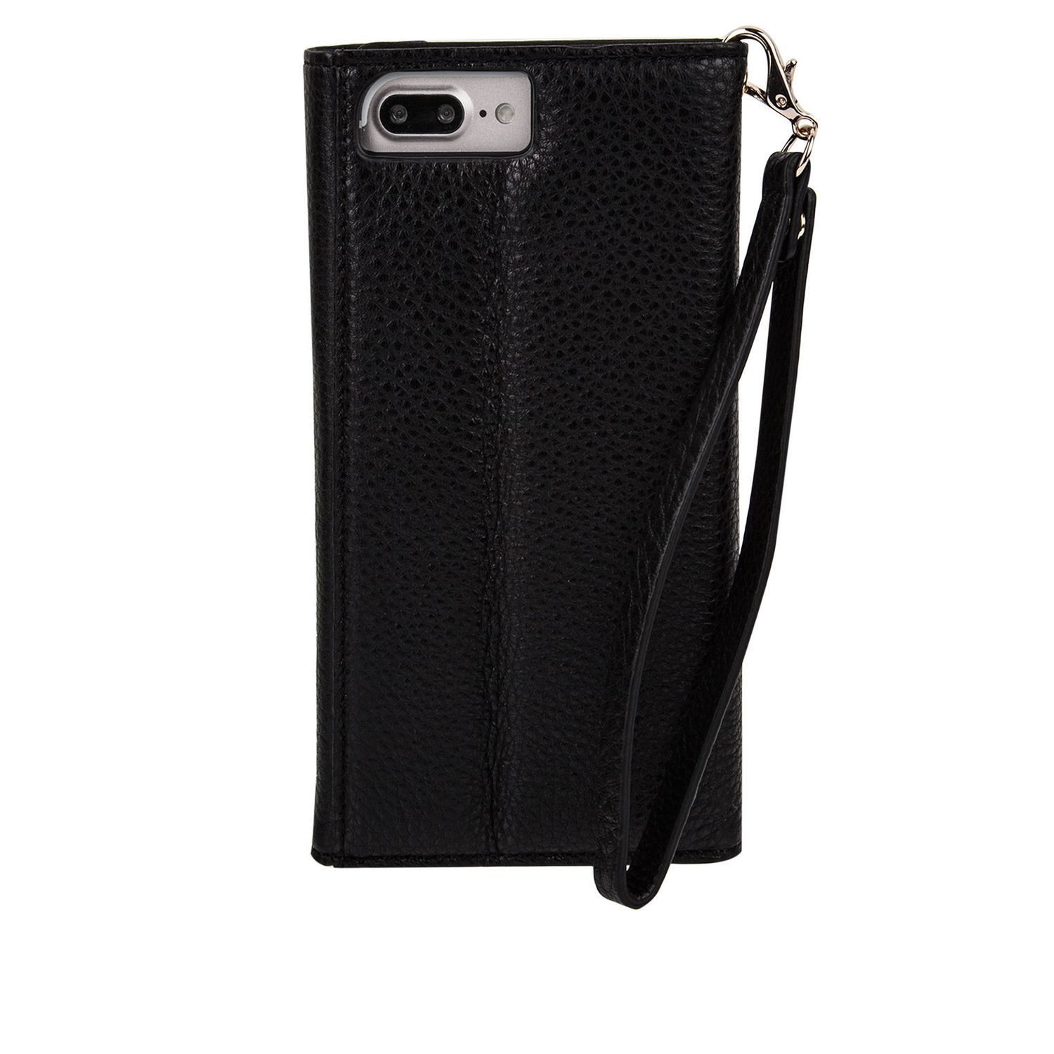 pretty nice 2675f 39532 Case-Mate Leather Wristlet Folio Case for iPhone 6s/7/8 in Black