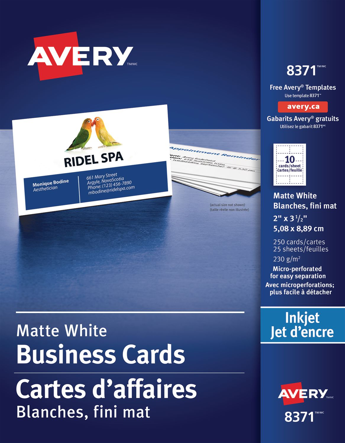 Avery® Perforated Business Cards | Walmart Canada