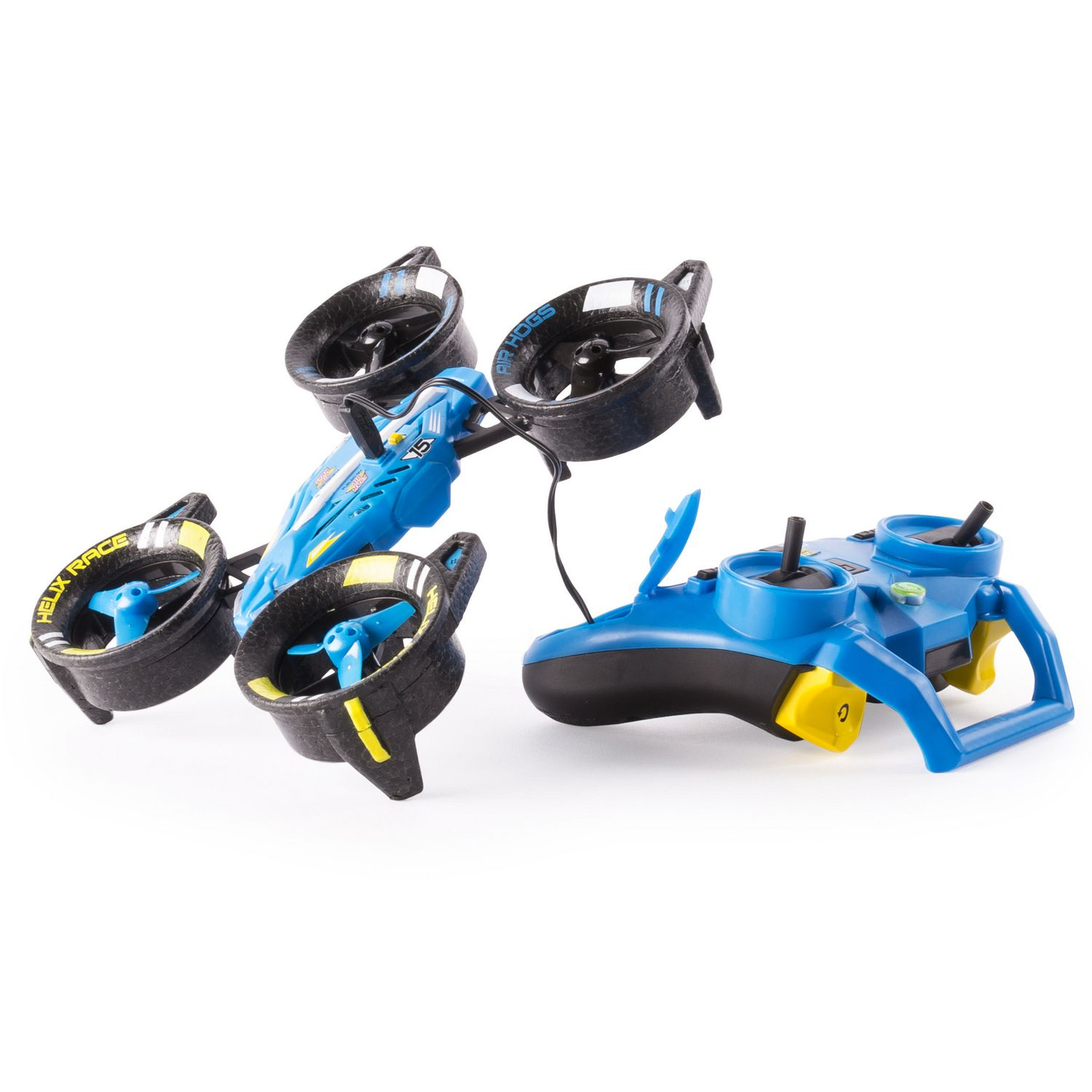 Air Hogs Helix Race Drone 24 GHz Blue RC Vehicle