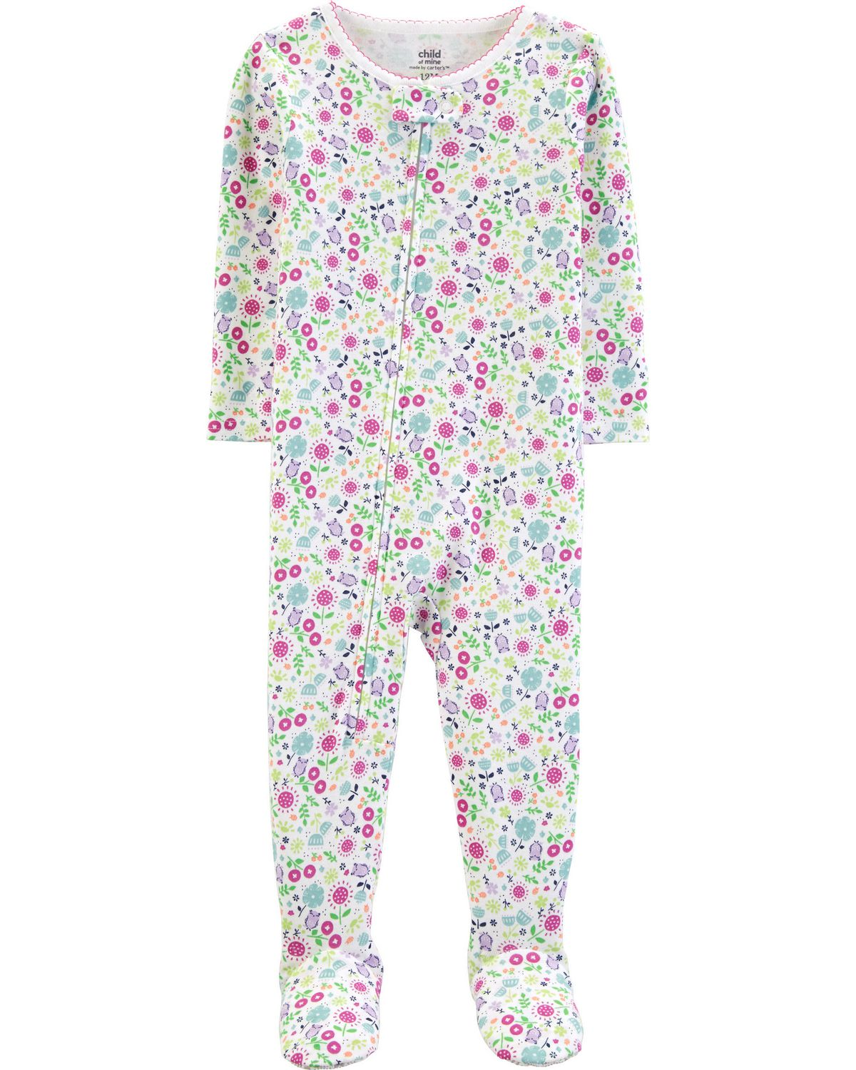 a33cd31f7b5f Child of Mine made by Carter s infant girls Blanket Fleece- floral ...