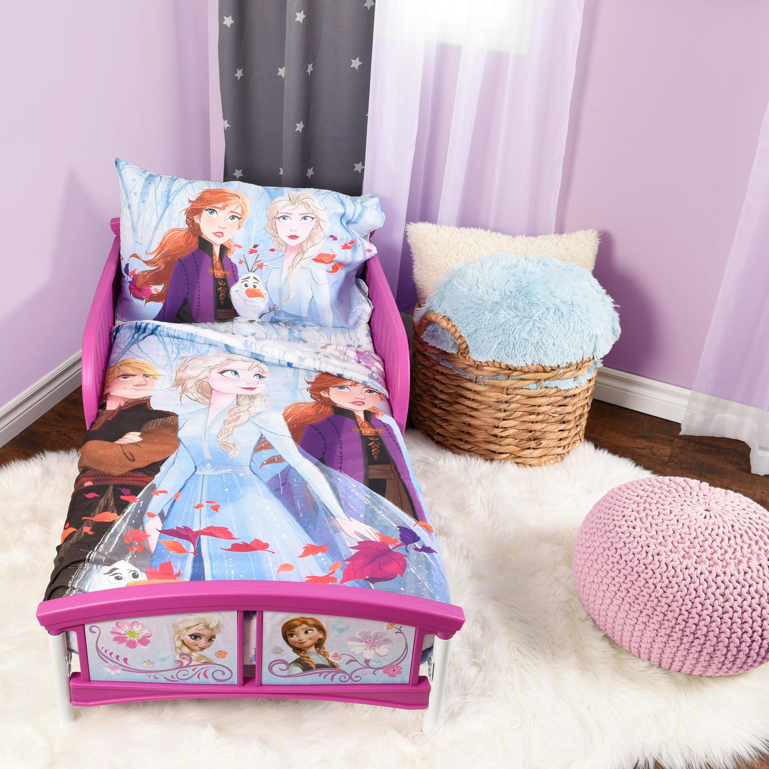 Disney Frozen Ii 3 Piece Toddler Bedding Set Walmart Canada