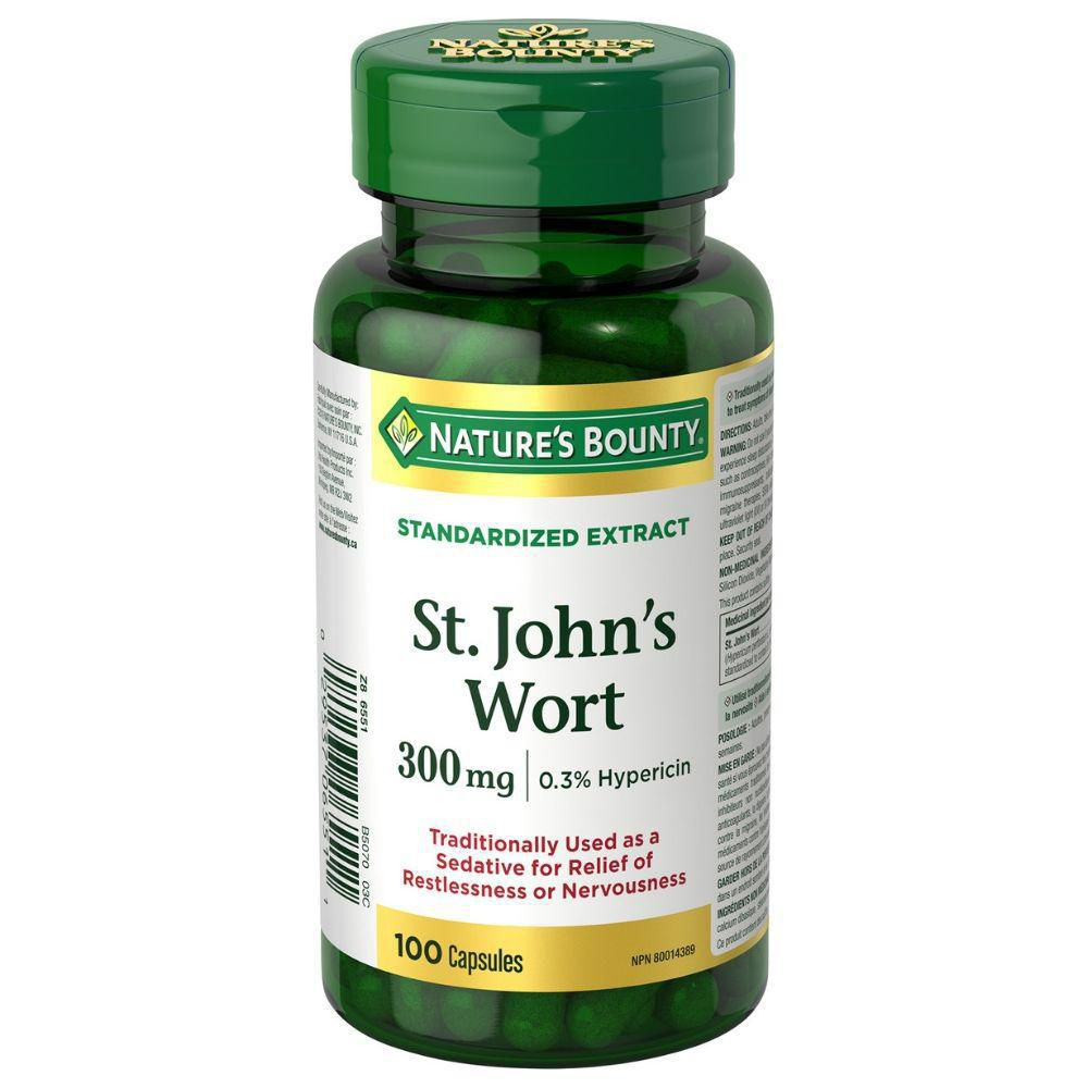 Nature's Bounty Double Strength St. John's Wort | Walmart Canada