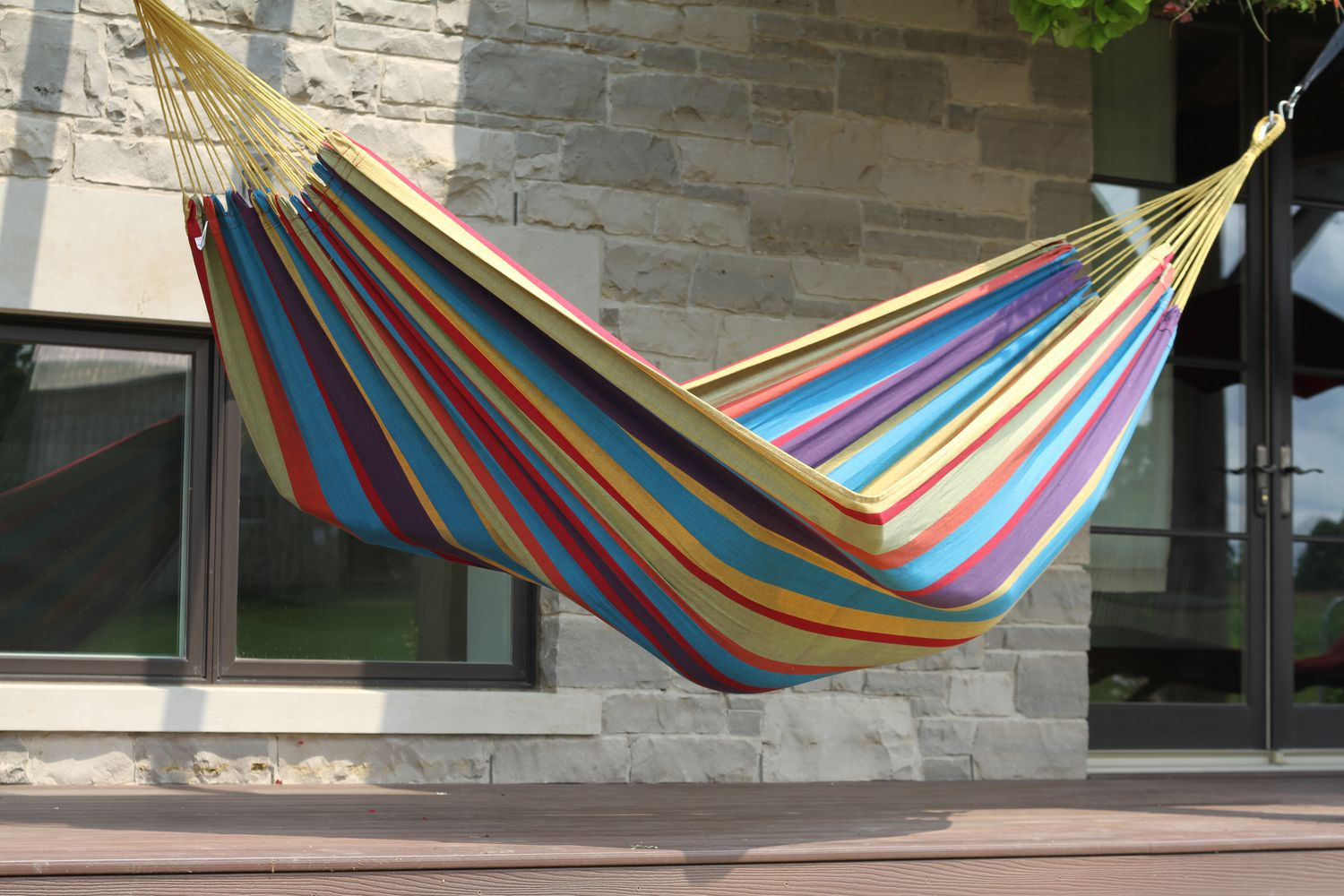 steel tropical product hammock double home hammocks space stand vivere saving with