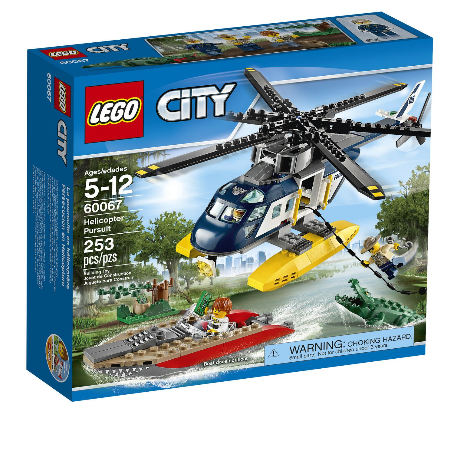 Lego City Police Helicopter Pursuit 60067 Walmart Canada