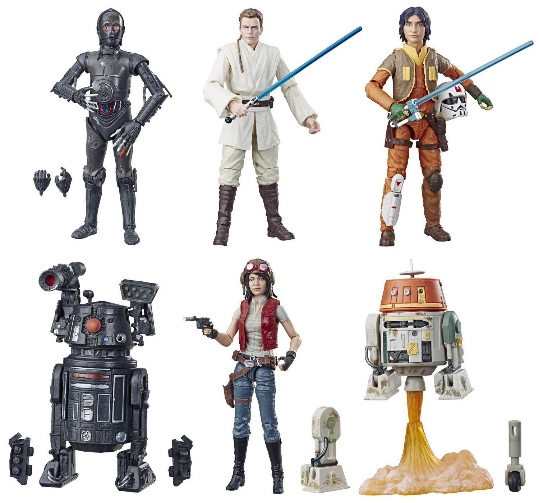 Lot 31634Hasbro a8546 Star Wars Rebels personnage Ezra Bridger CA 29 cm Neuf dans neuf dans sa boîte