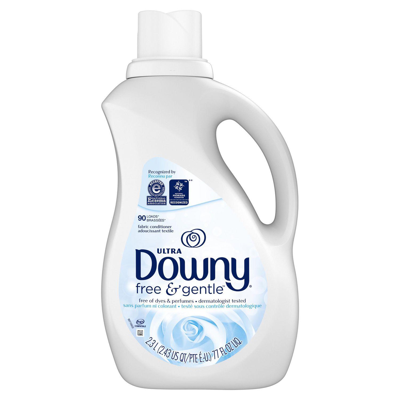 Ultra Downy Free & Gentle™ Liquid Fabric Conditioner Fabric