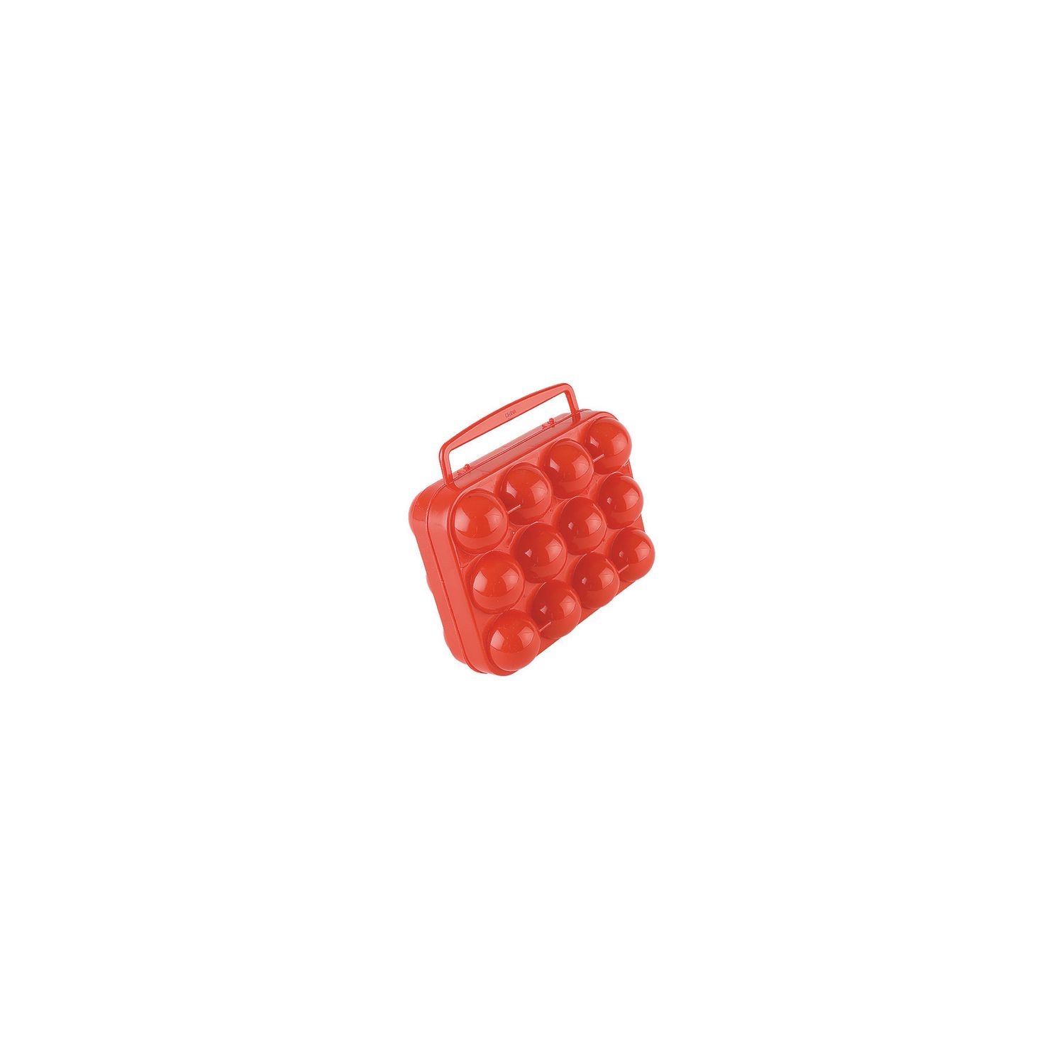 Coleman Egg Container Plastic 12Count Easy Carry Handle Egg Carrier Camp Outdoor