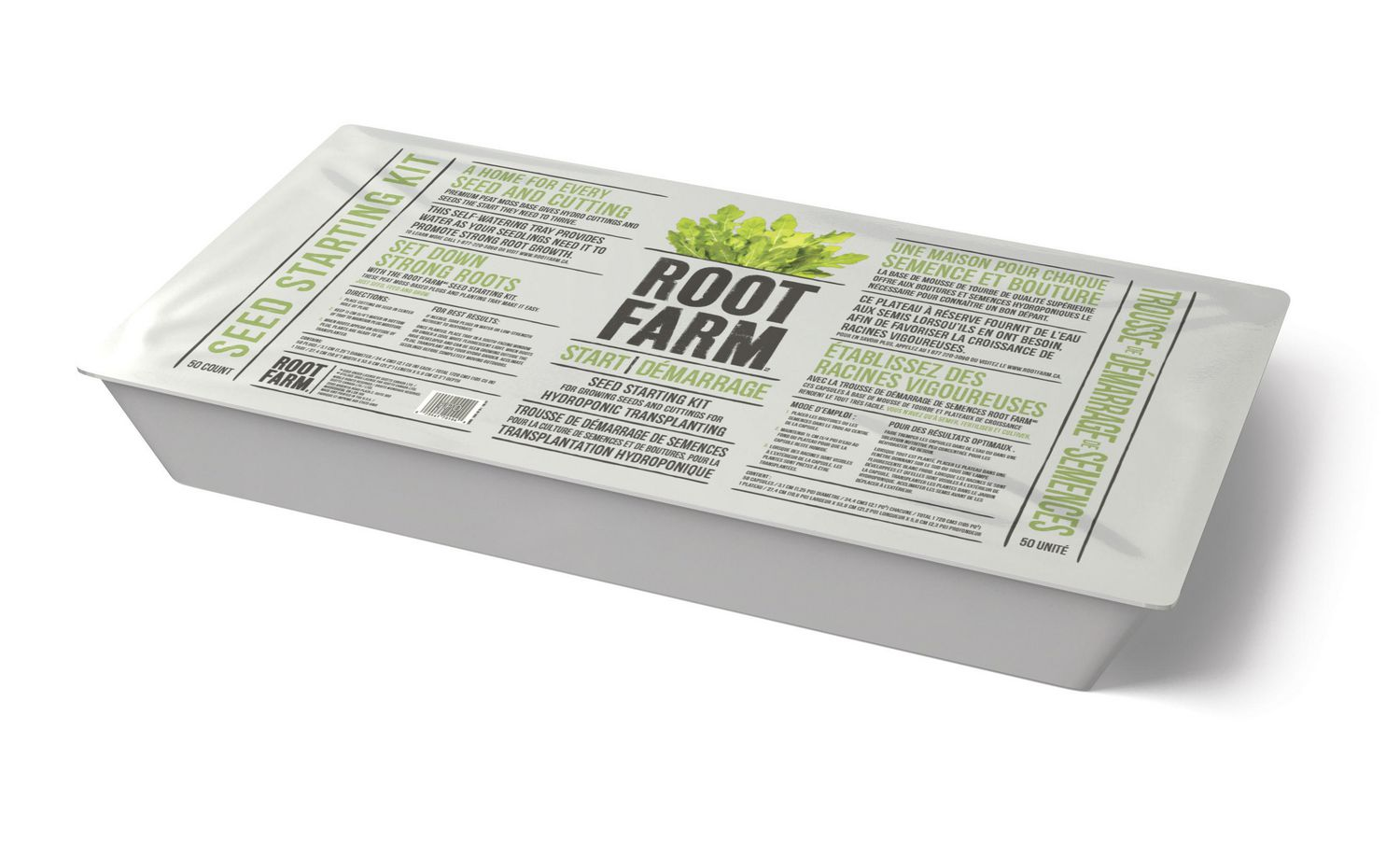 culture hydro -FR ROOT IT bac propagation 24 Bases pour Boutures /& Graines