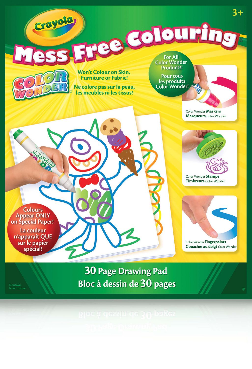 crayola color wonder mess free colouring drawing pad