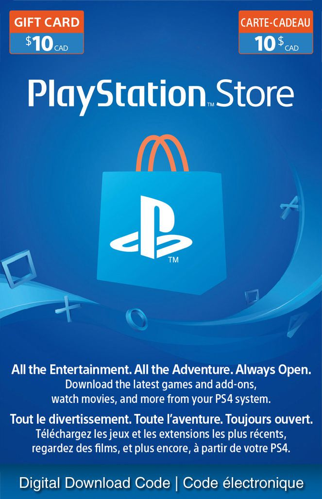 PlayStationNetwork – $10 Electronic Code [Download]
