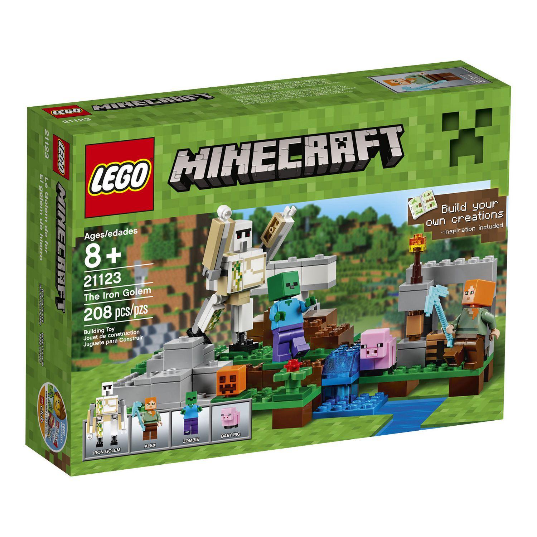 LEGO® Minecraft - The Iron Golem (12)
