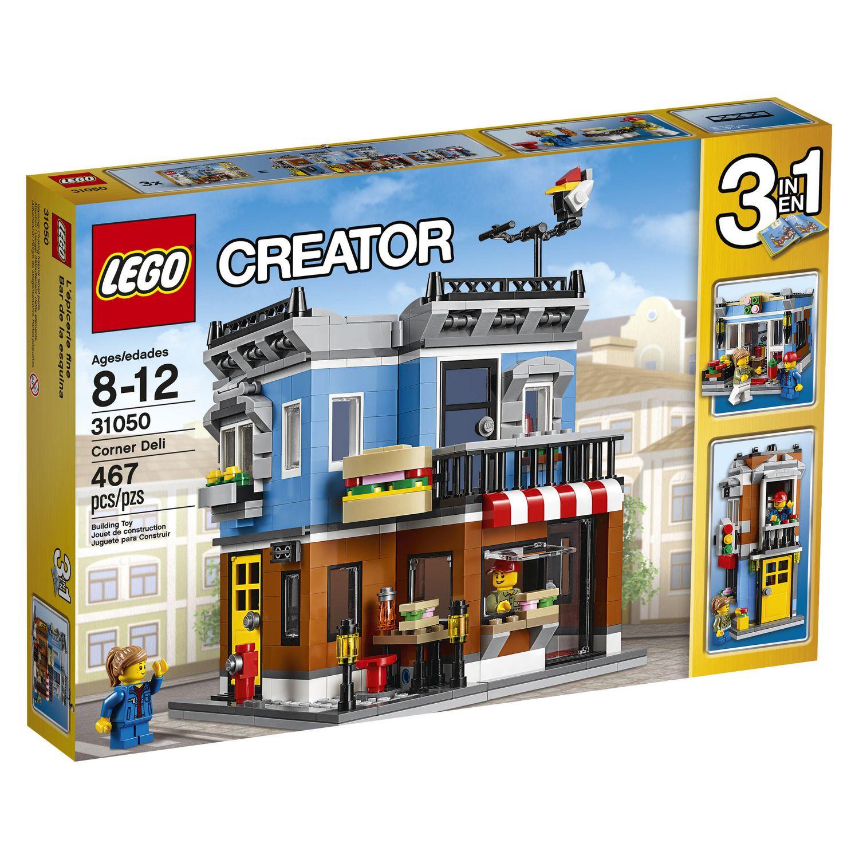 lego creator corner deli 31050 3 in 1 set brand new. Black Bedroom Furniture Sets. Home Design Ideas