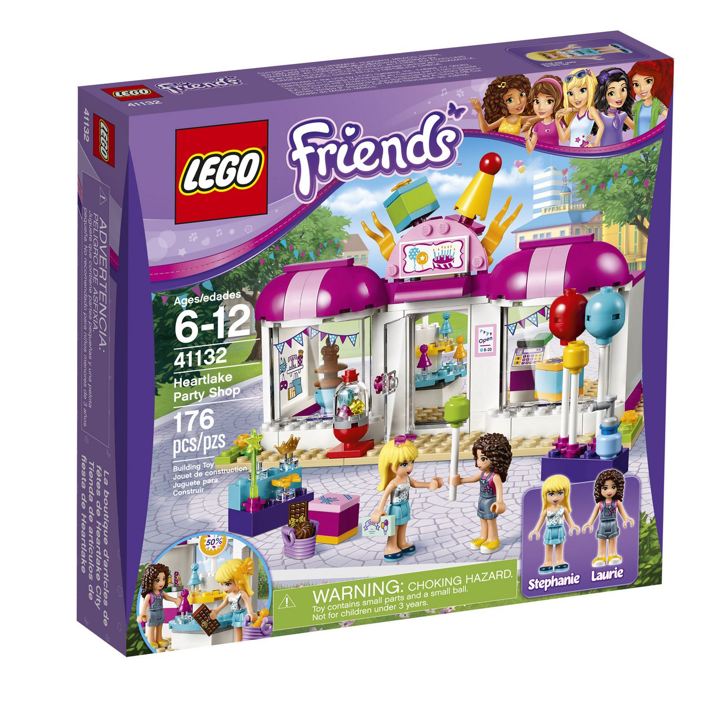 lego friends heartlake party shop 41132