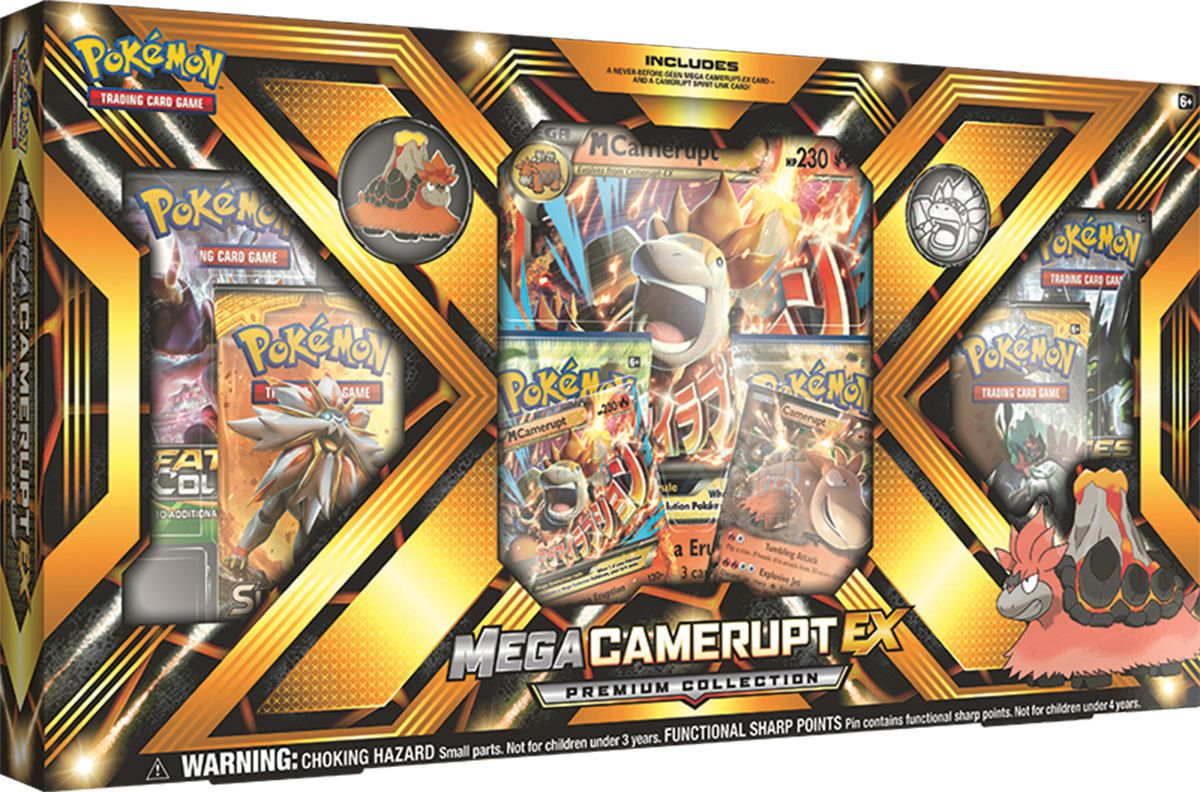 Outlet-Store Einkaufen größter Rabatt Pokemon Mega Camerupt-EX Collection Box- English Only