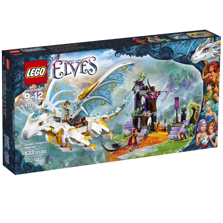 Lego 174 Elves Queen Dragon S Rescue 41179 Walmart Canada