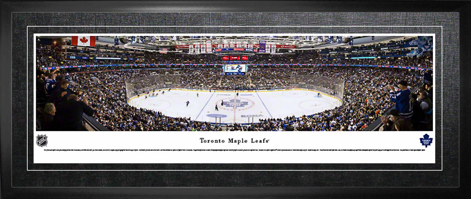 uk availability c4fdf 9b232 Leafs Framed Arena Panorama