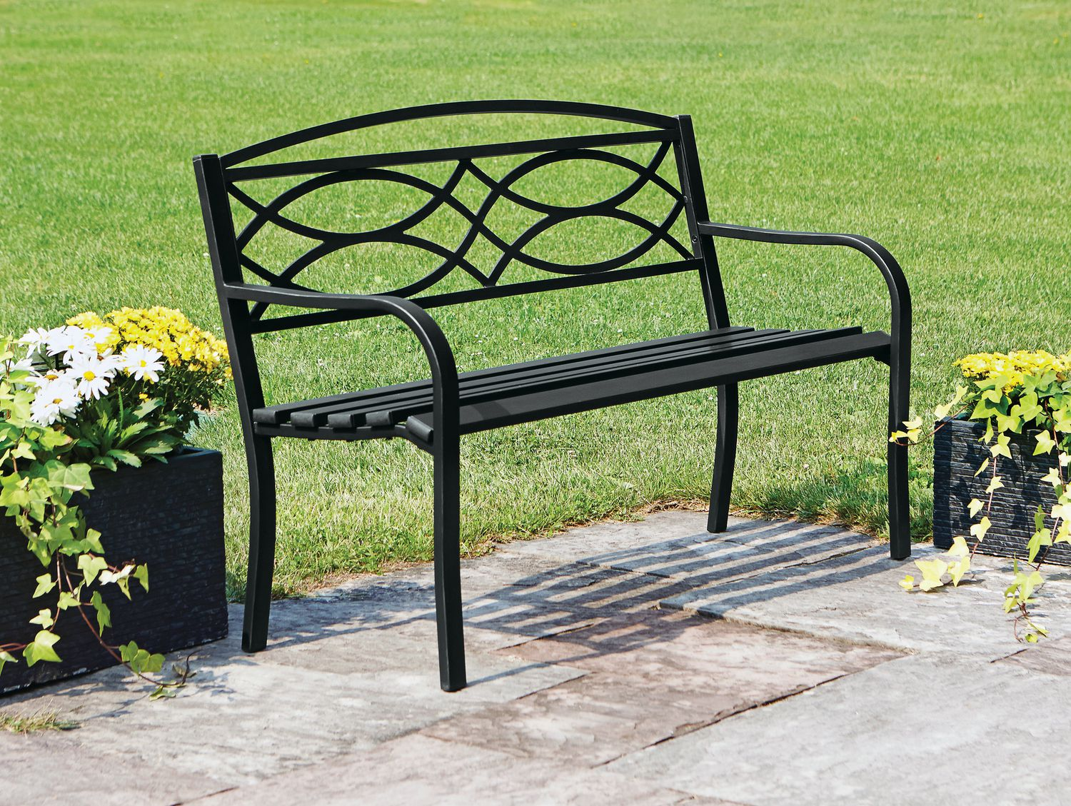 for garden your area in bench ideas pin relaxing railway