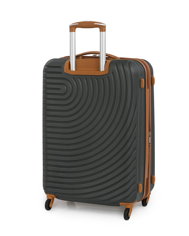 Suitcase Ultra-l/ég/ère de 4,2 kg Grand Valise Ertha ABS Valise de Voyage. Roues pivotantes /à 360/º pour Bagages /à Main