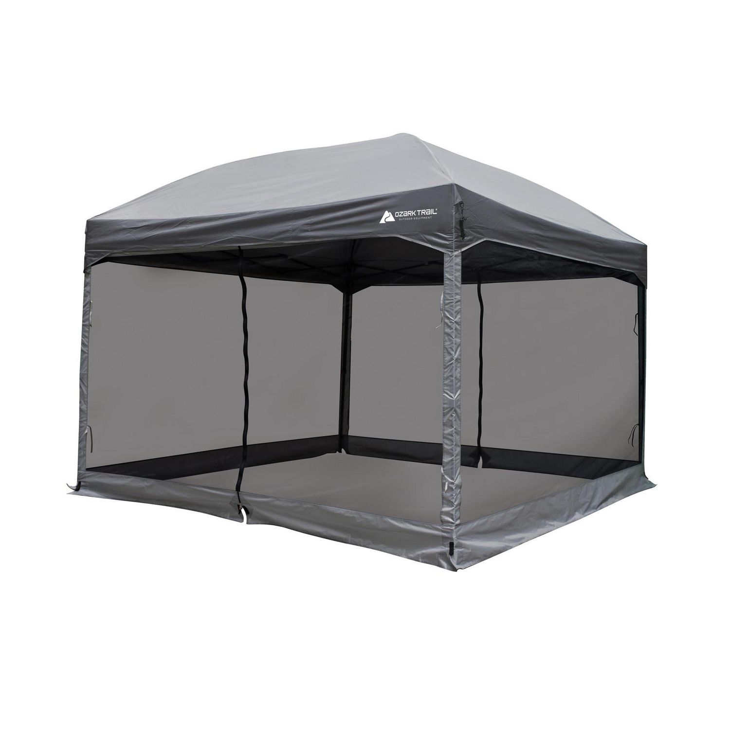 Ozark Trail 11 X 11 Straight Wall Instant Canopy With Full Mesh