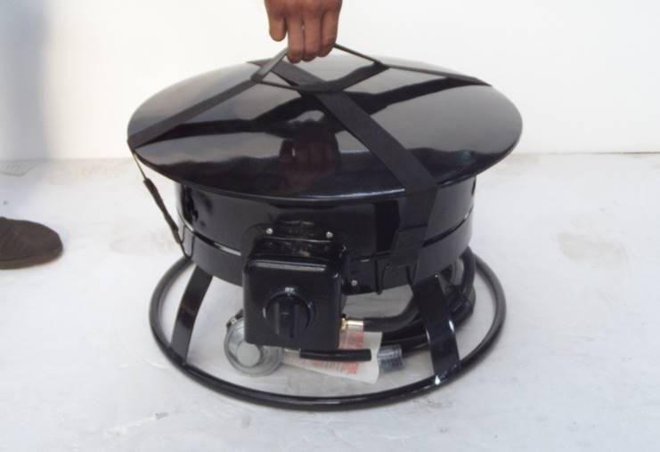 "Zen-Temp19"" Portable Propane Fire Pit | Walmart Canada"