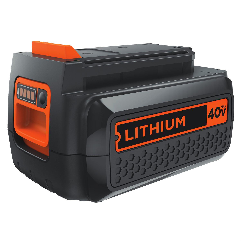 Black Decker 40v Max 1 5 Ah Lithium Ion Battery Walmart