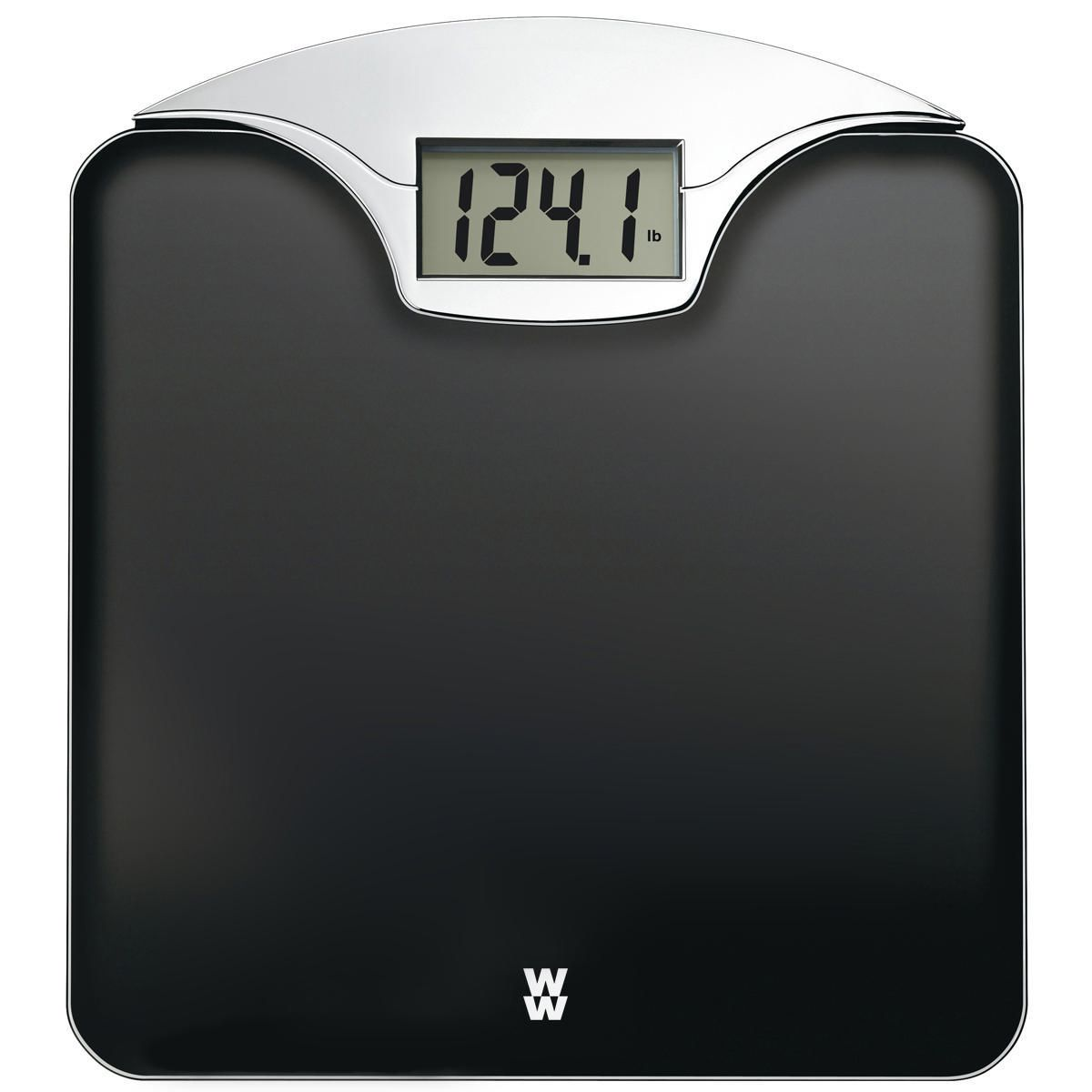 Conair Weight Watchers 174 Digital Glass And Chrome Scale