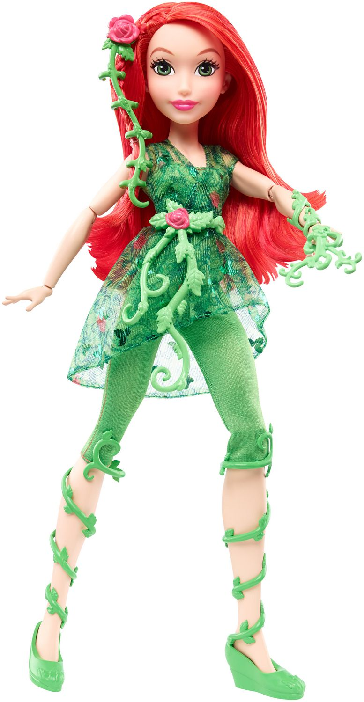 Dc Super Hero Girls Poison Ivy Action Doll 12 Quot Walmart