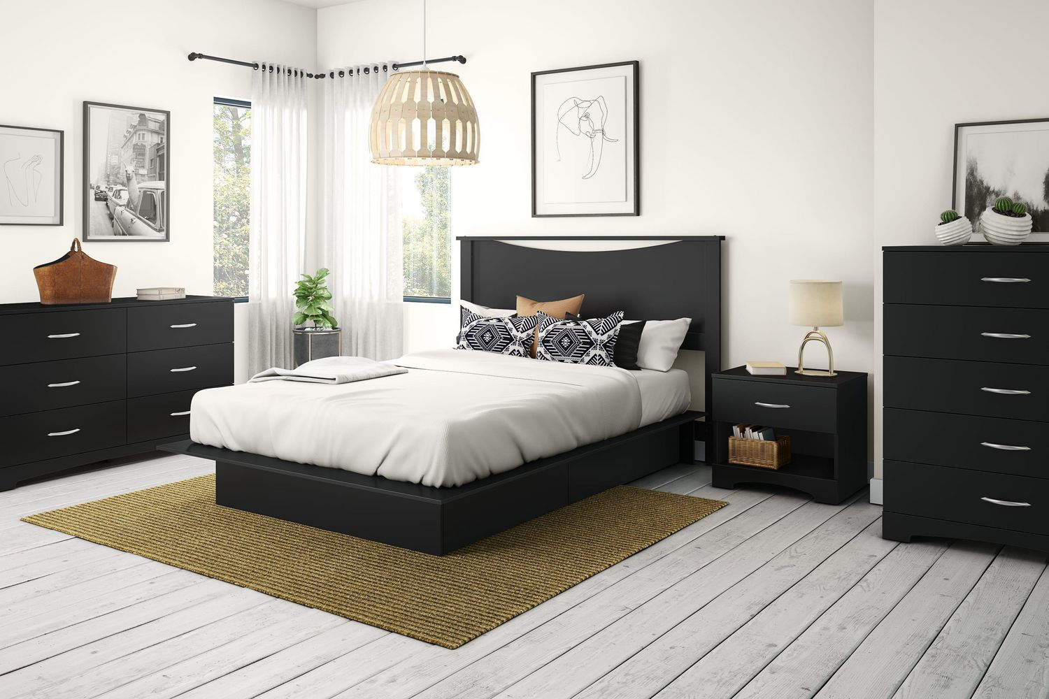 Platform bed with drawers canada bedroom exquisite dark for Spring hill designs bedroom furniture