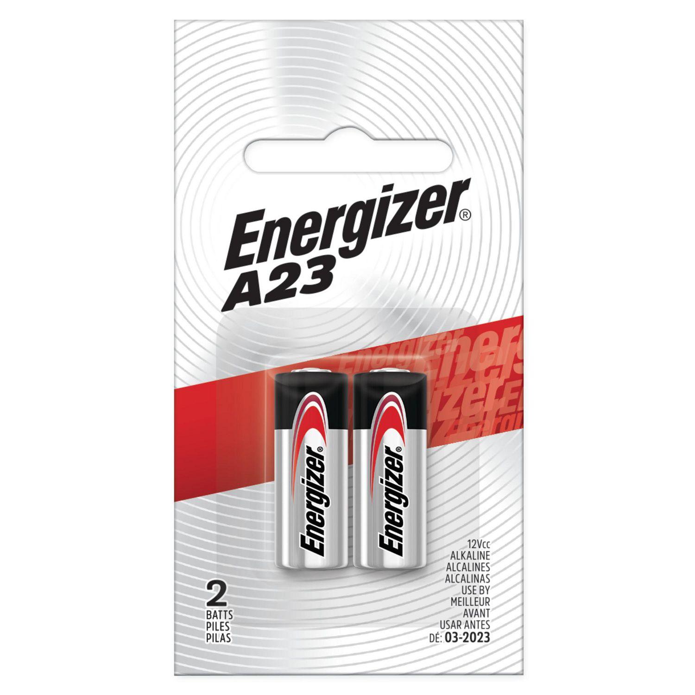 A23 Alkaline Batteries Energizer Pack of 2