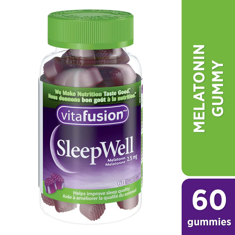 vitafusion sleepwell gummy supplement | walmart canada