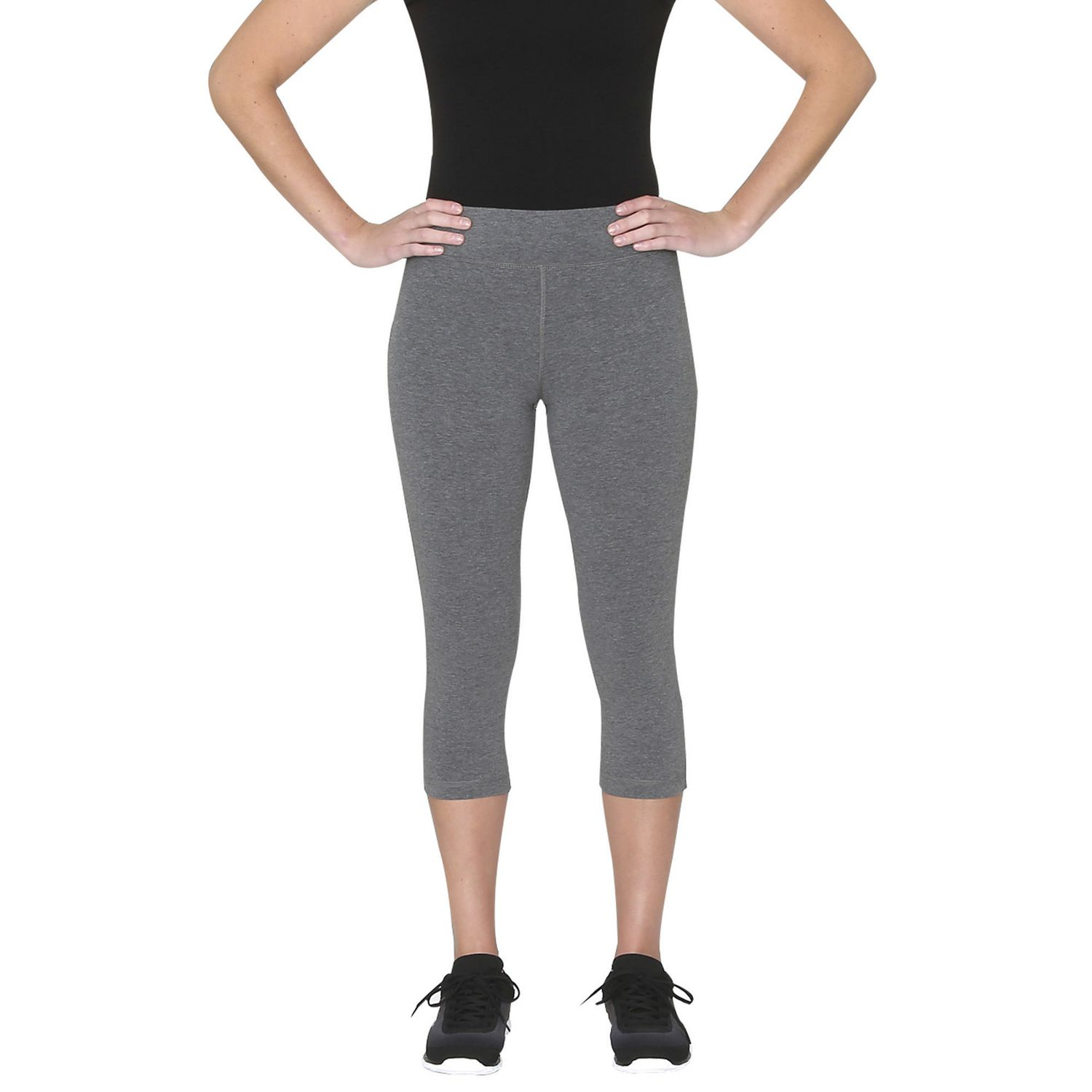 c636fb854df5c Athletic Works Women's Capri Leggings - image 1 of 3 zoomed image