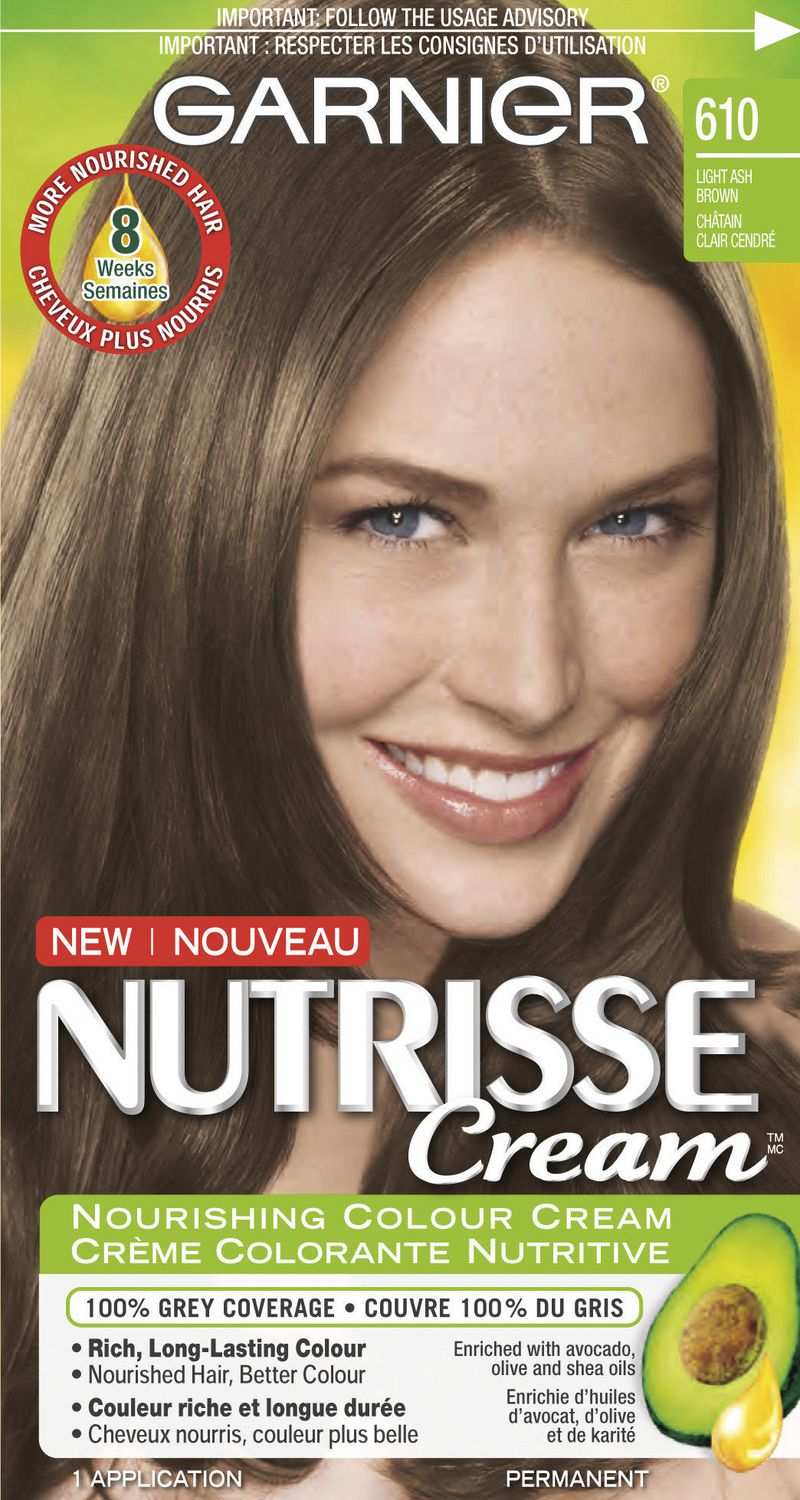 Garnier Nutrisse Cream Permanent Haircolour Cream Walmart Canada