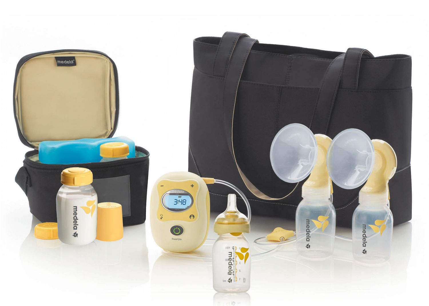 Medela Freestyle Double Electric Breast pump - image 1 of 6 zoomed image
