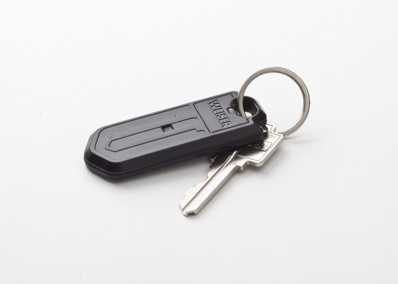 Weiser Kevo Key Fob Accessory, Battery Included, Black