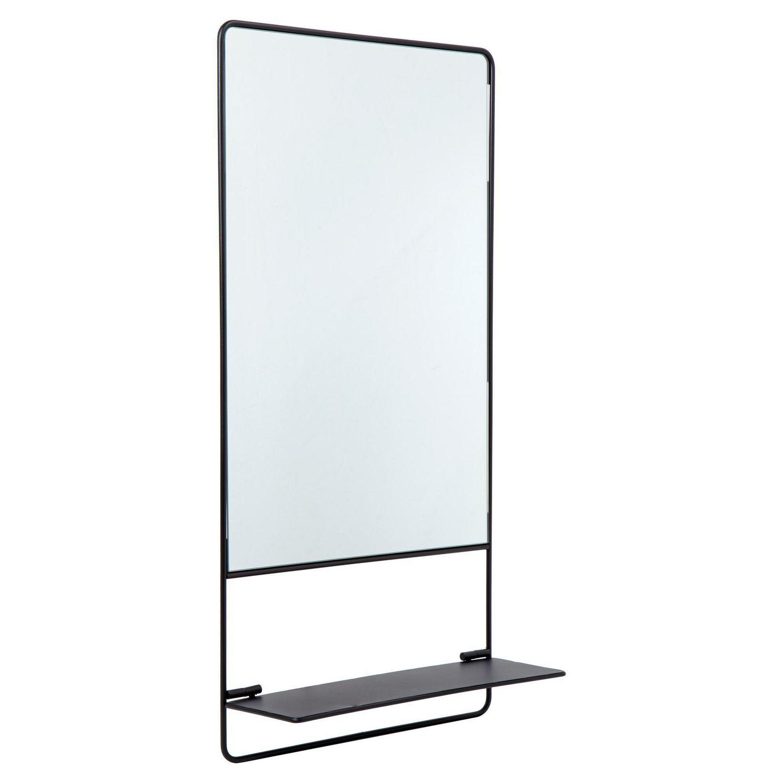 Truu Design Decorative Metal Wall Mirror With Shelf Walmart Canada