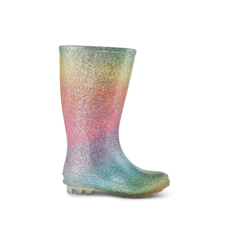 Weather Spirits Ladies Sparkle Rubber Boot Walmart Canada