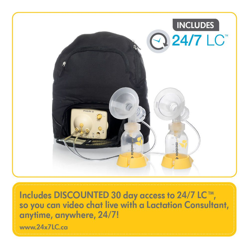 Medela Pump In Style Advanced Backpack With Breast Pump -5645